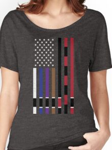 BJJ Stars and Stripes Women's Relaxed Fit T-Shirt