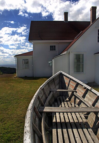 Monhegan Island Lighthouse by Erin Kroll