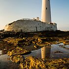 St. Marys Lighthouse by David Lewins