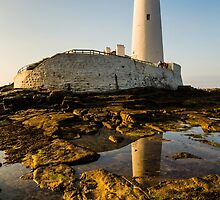 St. Marys Lighthouse by David Lewins