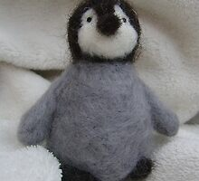 Baby Penguin from Teddy Bear Orphans by Penny Bonser