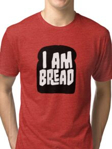 I am Bread 'mono' logo - Official Merchandise Tri-blend T-Shirt
