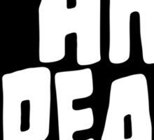 I am Bread 'mono' logo - Official Merchandise Sticker
