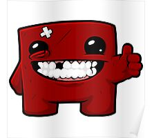 Super Meat Boy  Poster