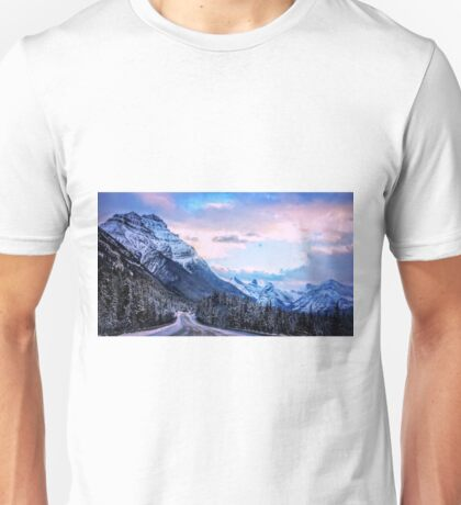 Road to Winter Unisex T-Shirt