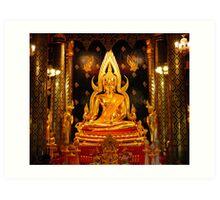 Wat Yai Art Print