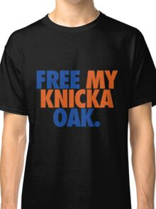 Free My Knicka Oak (Blue/Orange) Classic T-Shirt