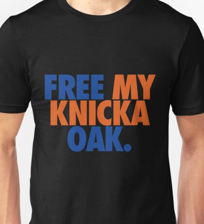 Free My Knicka Oak (Blue/Orange) Unisex T-Shirt