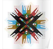 Bauhaus Star Poster