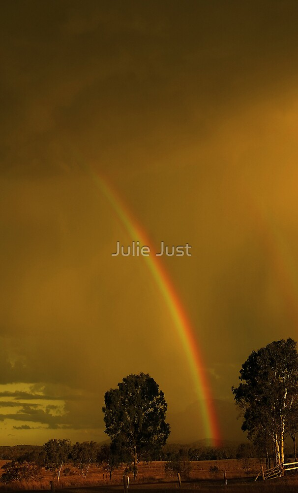 Golden Bows by Julie Just