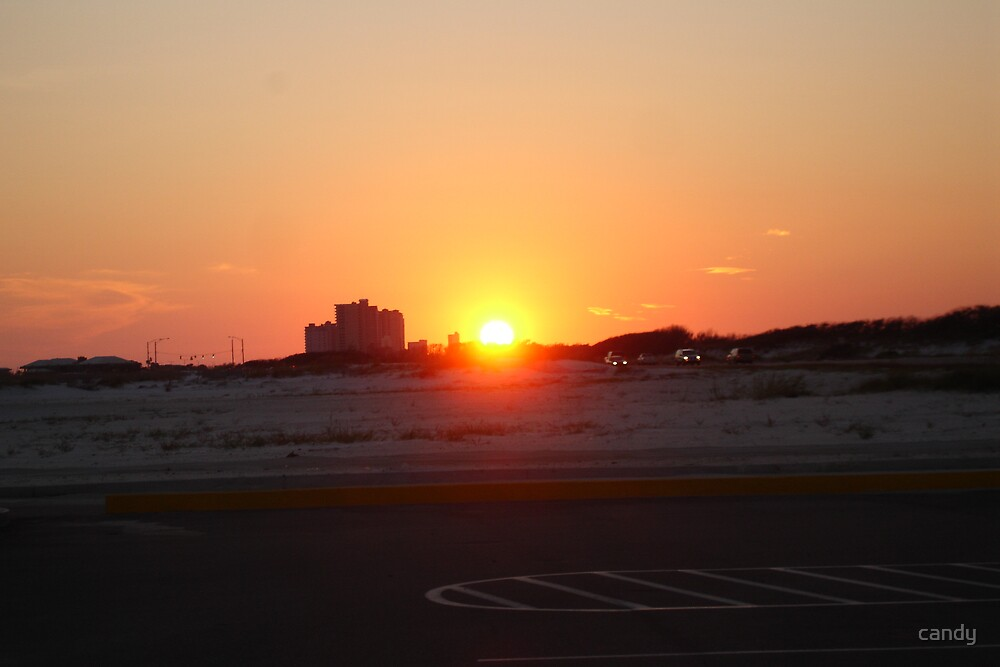 Gulf Shores Sun Set by candy