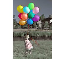 Party Girl Photographic Print