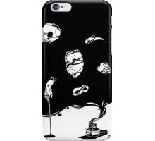 Tinta negra iPhone Case/Skin