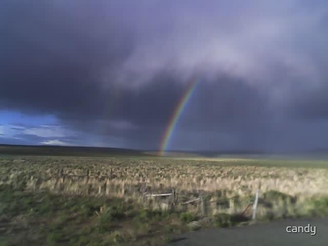 Desert rainbow by candy