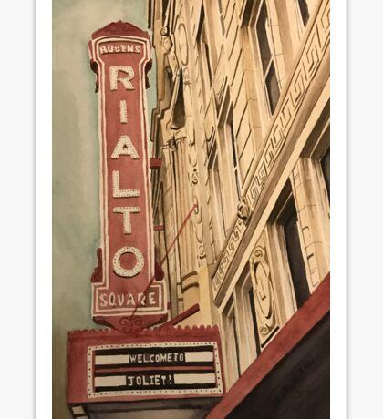 Rialto Square Theatre Sticker