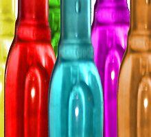 Coloured Bottles (long) by hmphotos