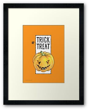 Pumpkin Trick or Treat by Mariana Musa
