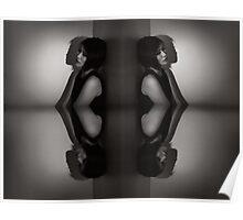 Piano Keys - 'Kaleidoscope' Series Poster
