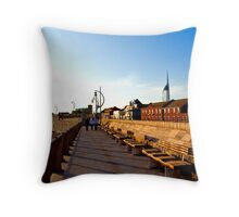 CITY OF PORTSMOUTH ENGLAND Throw Pillow