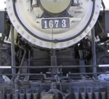 1899 steam locomotive Sticker