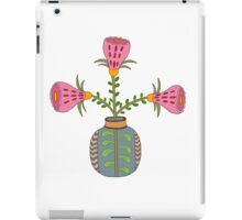 flower pot illustration 1 iPad Case/Skin