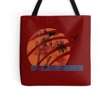 Scarred Sunset Tote Bag