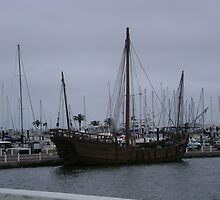 old wooden ship by sgranberry
