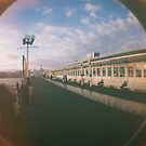 On the pier by Asrais