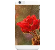 Geranium Sunset Fury iPhone Case/Skin