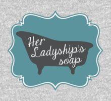 "Downton Abbey ""Her Ladyship's Soap"" Kids Tee"