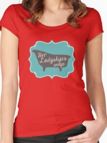 "Downton Abbey ""Her Ladyship's Soap"" Women's Fitted Scoop T-Shirt"