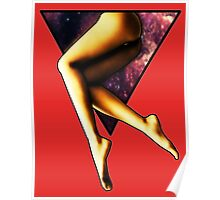 Legs Triangle Poster