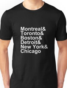 Original Six Cities Unisex T-Shirt