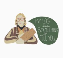 Log Lady - My Log Has Something To Tell You by TurtlesSoup