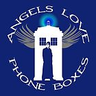 ANGELS LOVE PHONE BOXES  by karmadesigner