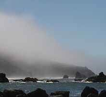 fog at the ocean by firemaster95945