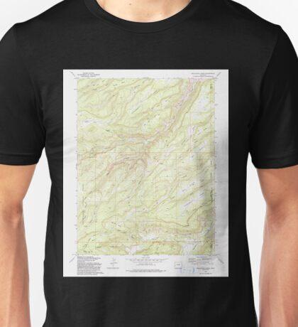 USGS TOPO Map Colorado CO Escalante Forks 232961 1973 24000 Unisex T-Shirt