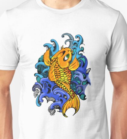 Miami Ink did a lot of Koi Fish on their Show Unisex T-Shirt