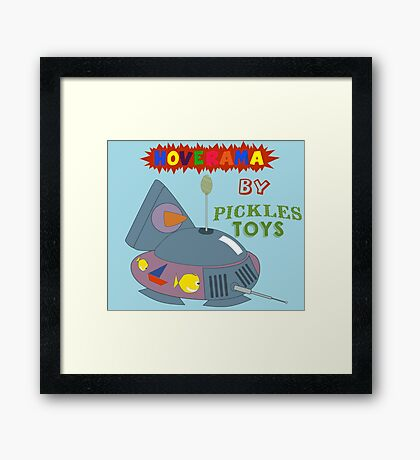 Hoverama by Pickles Toys Framed Print