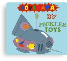 Hoverama by Pickles Toys Canvas Print