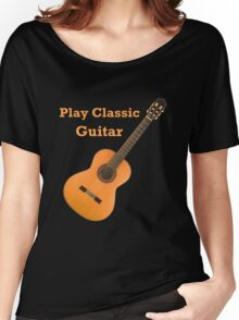 Play  Classic Guitar Women's Relaxed Fit T-Shirt