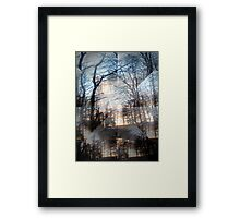 'The Dizziness of Freedom' from 'Kaleidoscope' series Framed Print