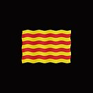 Catalan flag - transparent background by stuwdamdorp