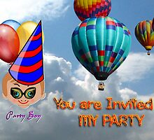 Toon Boy 10b - You Are Invited to My Party by Dennis Melling