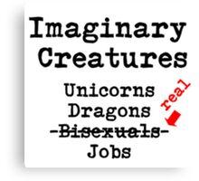 Imaginary Creatures Canvas Print