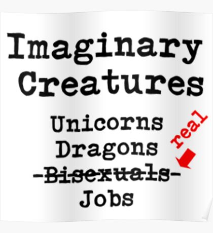 Imaginary Creatures Poster