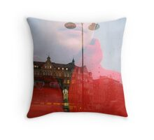 Red Man, Sweden Throw Pillow