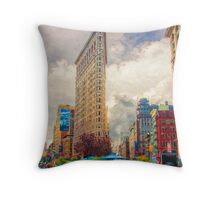 In New York City Throw Pillow