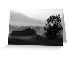 #35  Rural Barn In Tennessee Greeting Card