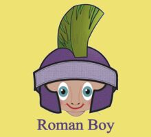 Toon Boy 9a Roman T-shirt design Kids Tee